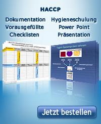CD HACCP Dokumentation Und Hygieneschulung Bestellen!